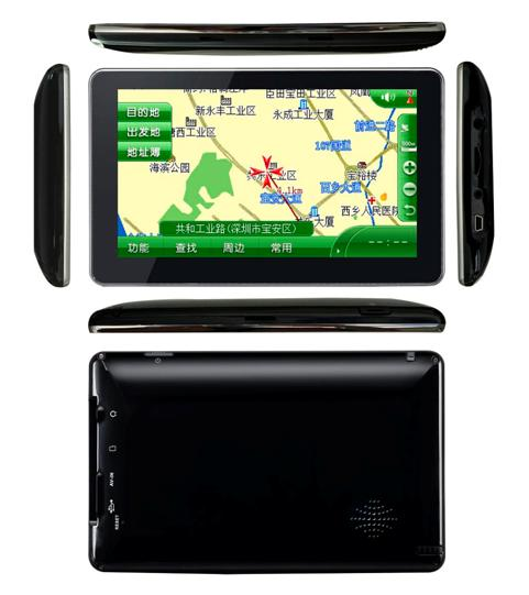 7 inch touch screen GPS with Bluetooth, ISDB-T VCAN0042 3 -