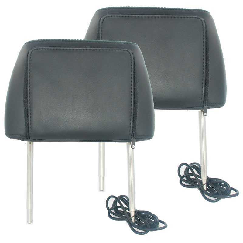 7 inch headrest monitor with pillow bag LED backlight cover zipper 10 -