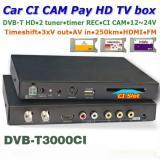 DVB-T3000CI In car MPEG2-4 CAM CI Module DVB-T DTV Europe TNT TDT CA 8